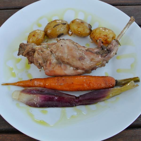 Il coniglio agli aromi freschi marco bechi - Aromi in cucina ...
