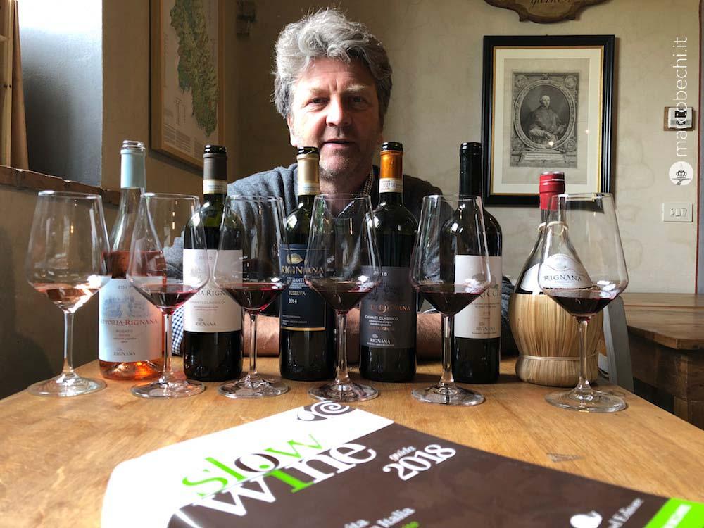 Cosimo Gericke e i suoi vini