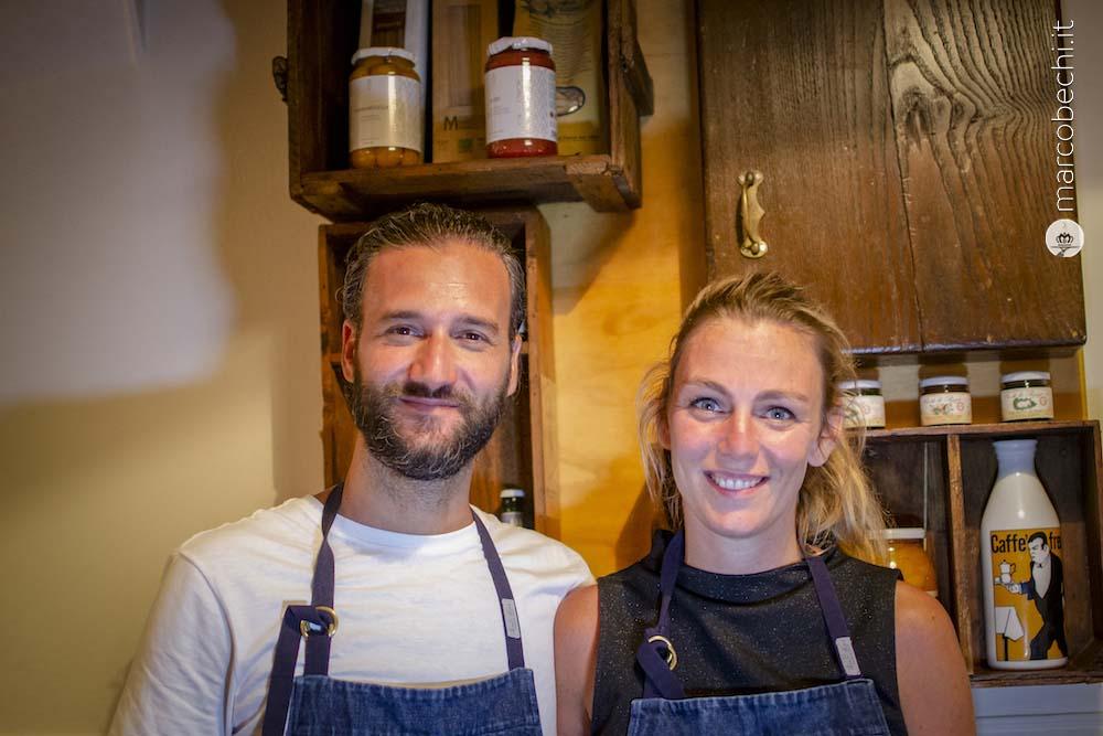 Salefino Vino Cucina Siena Alice Dal Dosso E Claudio Di Sante Marco Bechi